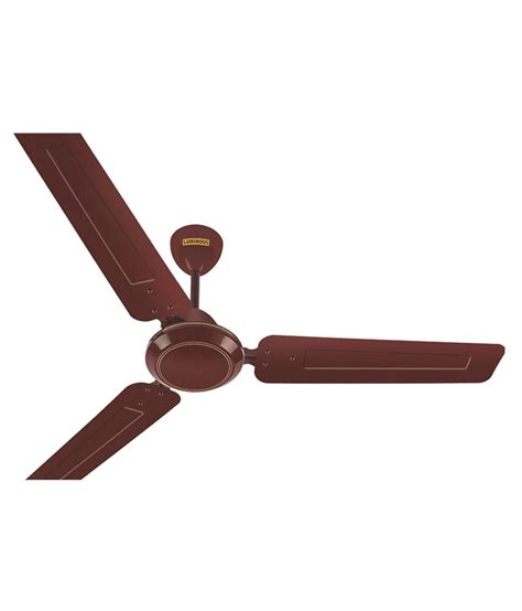 brown ceiling fans luminous 1200mm morpheus ceiling fan brown price in