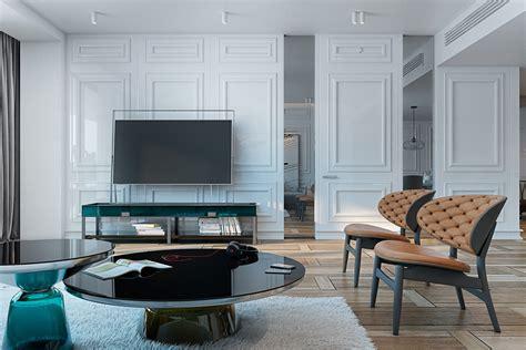 wall molding interior design ideas