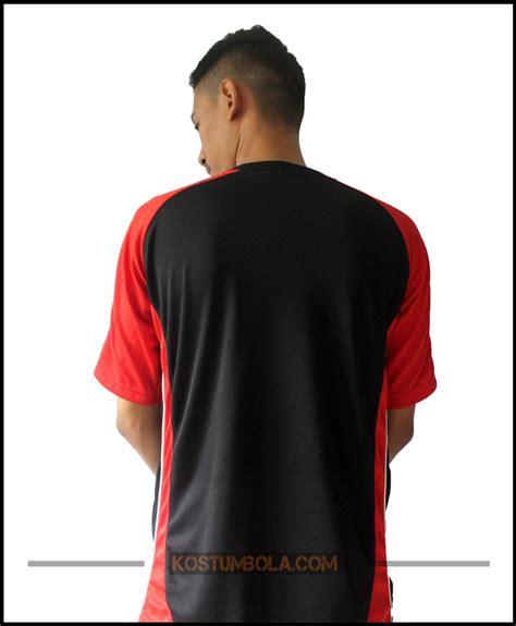 desain jersey merah hitam desain seragam bola tim pasther bekasi timur