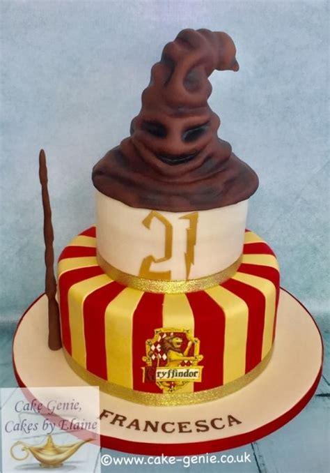 harry potter sorting hat cake  elaine bennion cake genie cakes  elaine cakes harry