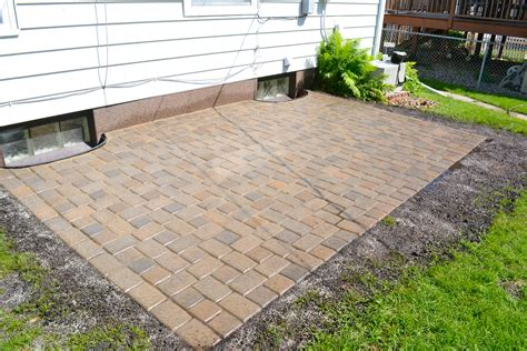 Paver Patio Done Markson Blog Cheap Patio Pavers