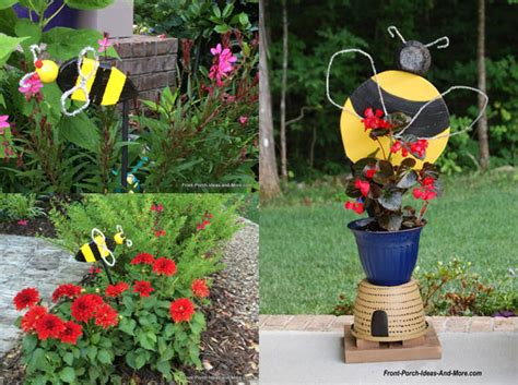 Bee Garden Decor Bumble Bee Decorations Bumble Bee Porch Decoration Bumble Bee Garden