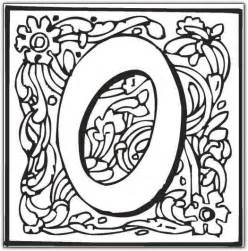 fancy coloring pages coloring pages letter