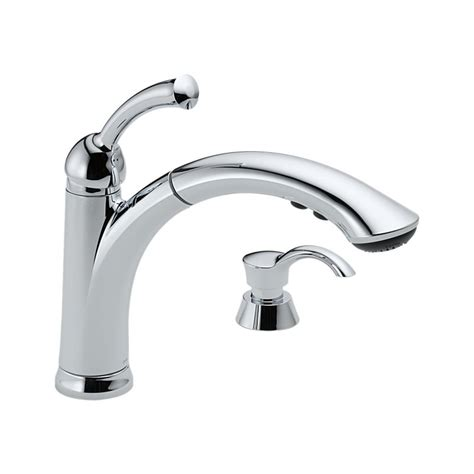 Kitchen Faucets With Touch Technology by Delta Lewiston Pull Out Kitchen Faucet One Handle Chrome