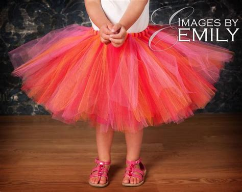 design your own tutu child tutu design your own tutu size 5 6 7or 8 orange blue