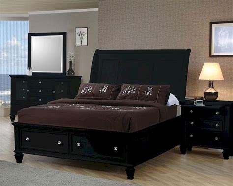coaster bedroom set black co 201329set