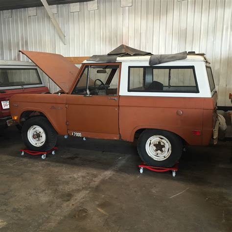 ford bronco project  miles  sale