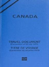 types de passeports  de documents de voyage canadaca