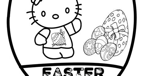 Hello Coloring Pages Easter by Coloring Pages Easter