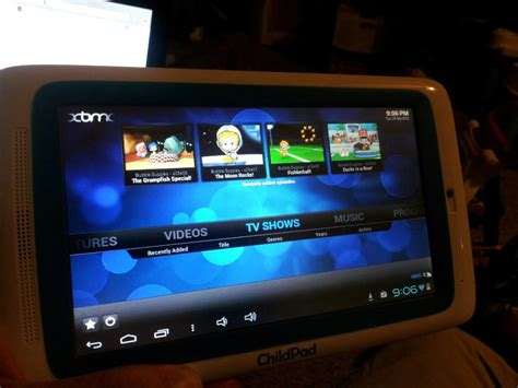 best tablet for xbmc xbmc running on the childpad forum arctablet news