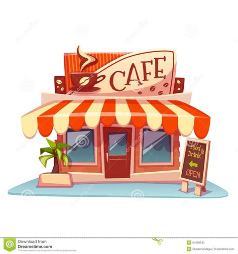clipart caffè restaurant clipart cafe building pencil and in color