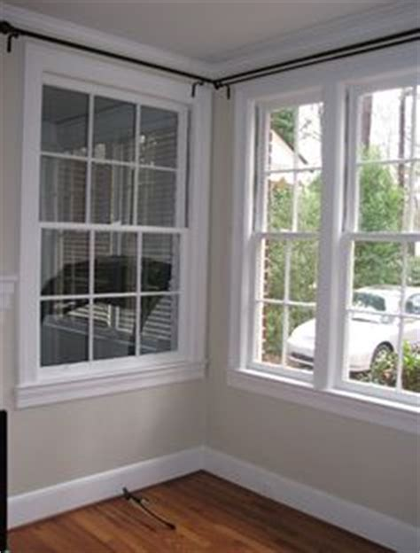 corner bay window corner curtain rod on pinterest corner windows corner