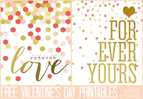 valentines day free s day free printable the 36th avenue