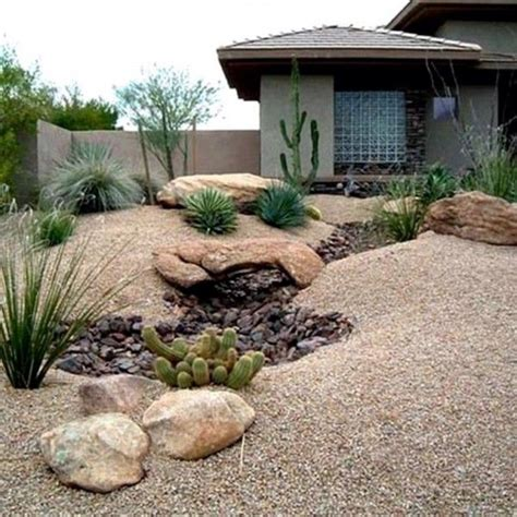 Rock Backyard Landscaping Ideas Desert Landscaping Ideas For Front Yard Outdoors Home Ideas Libby Grundstrom