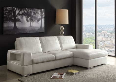 acme sectional sofa kacence sectional sofa 52250 in ivory pu by acme