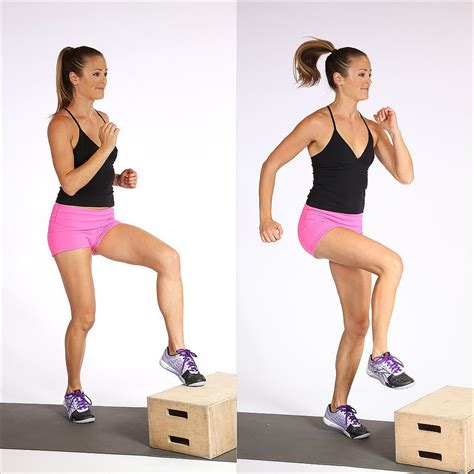 box step find a step stool or box or aim toes at an