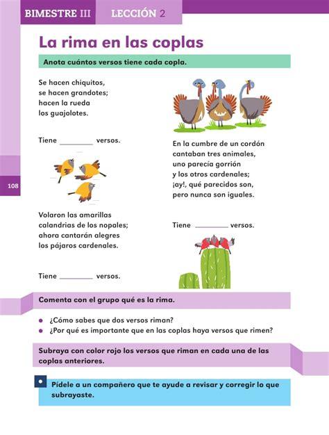coplas y rimas para primer grado de primaria slideshare la rima en las coplas bimestre iii lecci 243 n 2 apoyo