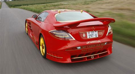 mercedes mclaren red gold and ruby encrusted mercedes slr mclaren on sale for