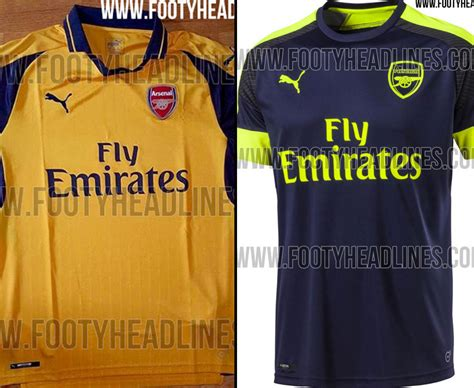 Arsenal Away 201617 Murah arsenal news 2016 17 away and third kits leaked daily