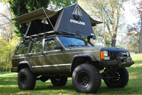 overland jeep tent overland 1 8 roof top tent naxja forums