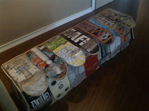 Skateboard Bedroom Furniture The 25 Best Skateboard Furniture Ideas On Skateboard Shelves Skateboard Rack And
