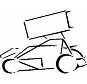 Sprint Car Clip Art  Clipartsco