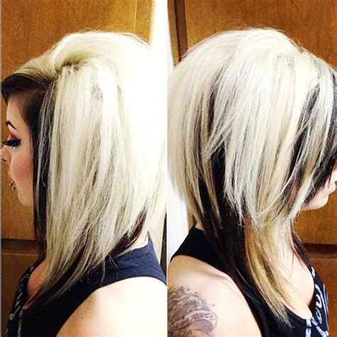 pics of bolomde hair on top and dark nottom dark brown hair on top with blonde underneath 20152016