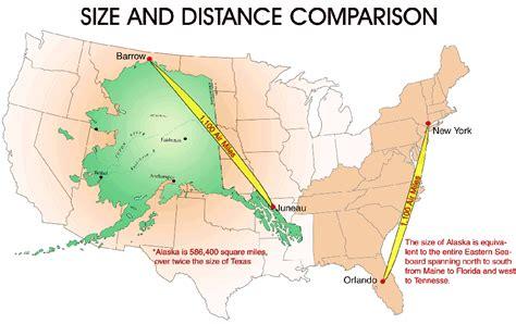 us map with alaska overlay just how big is alaska anyway matador network
