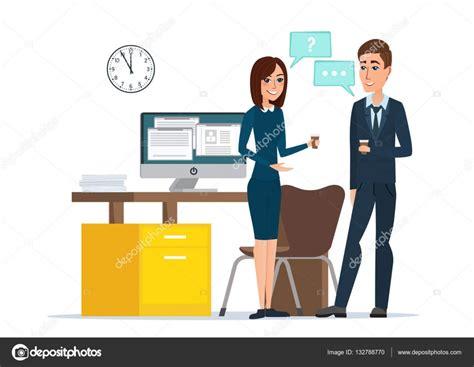 preguntas entrevista jefe de equipo ni 241 a y hombre empresarios hablando de oficina trabajo