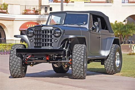 custom willys jeepster 1950 willys jeepster offroad 4x4 custom truck jeep suv