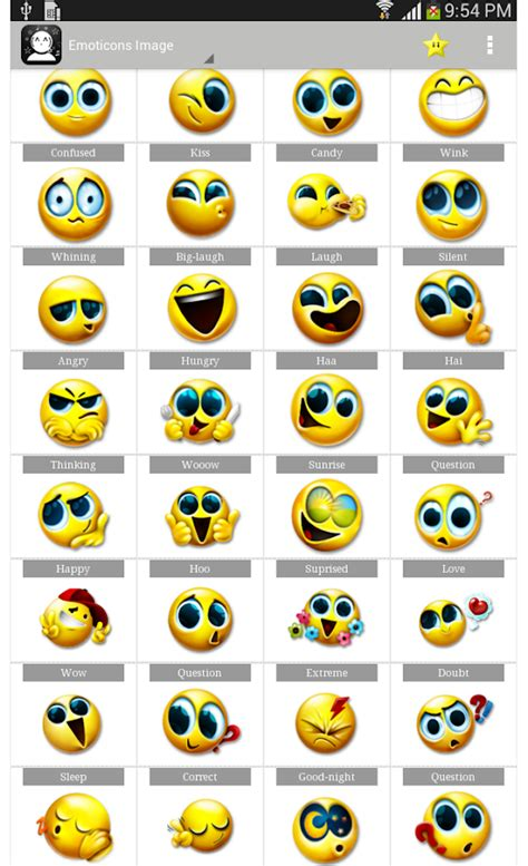 emoticon android emoticons symbols android apps on play