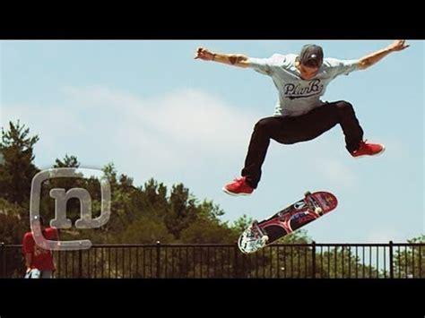 ryan sheckler backyard skatepark ryan sheckler skateboard half cab kickflip slo mo phantom