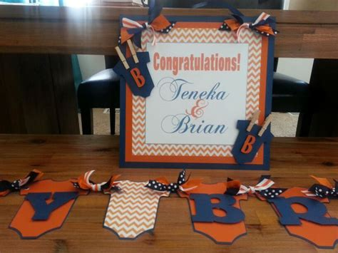 chicago baby shower chicago bears inspired baby shower cp events