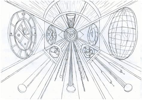 2 Point Perspective Drawing Of A Circle by One Point Perspective Circle By 7oneders On Deviantart