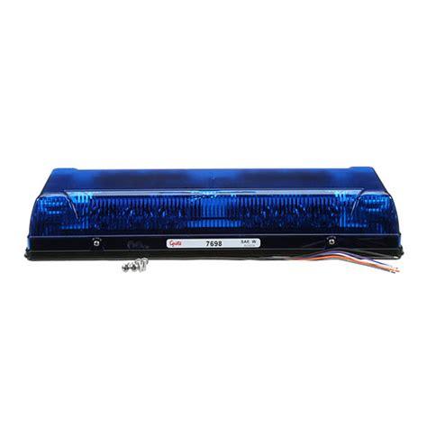 blue led mini light bar 76985 17 quot low profile led mini light bar blue