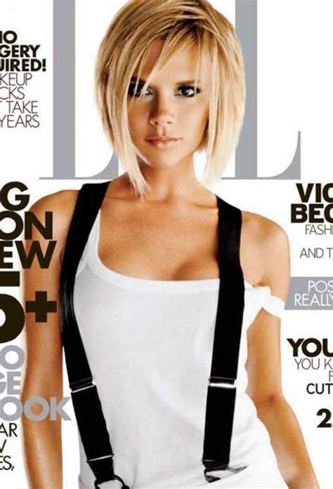 15 Victoria Beckham Short Blonde Hair   Short Hairstyles