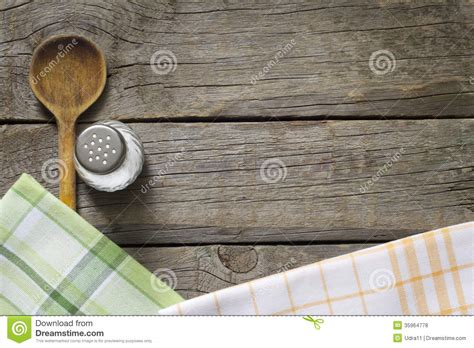 Abstract Food Background On Vintage Boards Royalty Free