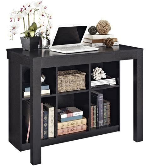 Office Desk With Bookshelf Compact Office Desk Bookcase In Desks And Hutches
