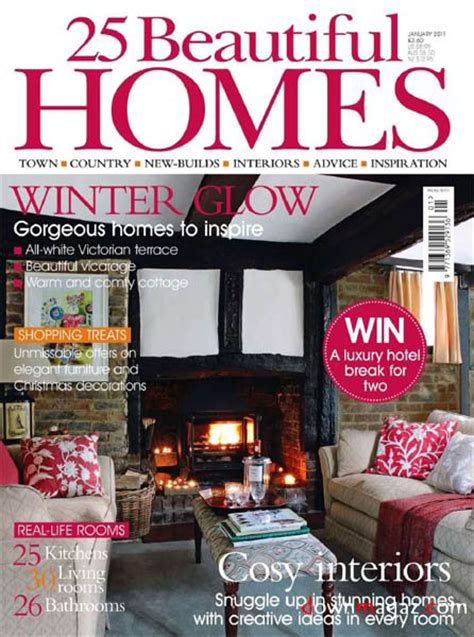country homes interiors january 2011 187 download pdf magazines magazines commumity 25 beautiful homes january 2011 187 download pdf magazines