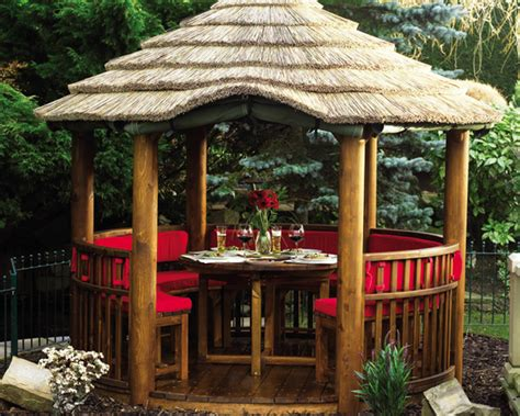 Thatched Gazebo Summing Up Summer Houses The Hoot Clutton Cox