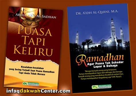 Buku Berobatlah Dengan Puasa Sedekah alhamdulillah 1 800 buku panduan ramadhan sudah bagikan
