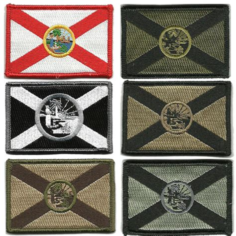 state tactical patches 2 quot x3 quot florida state tactical patch