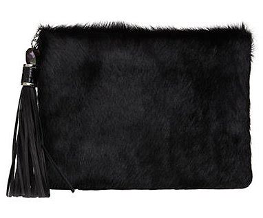 Rafe Shearling Bag by Rafe Celia Leather Faux Fur Clutch 225 The Ultimate