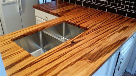 Www Countertops by Tigerwood Countertop Maryland Wood Countertops