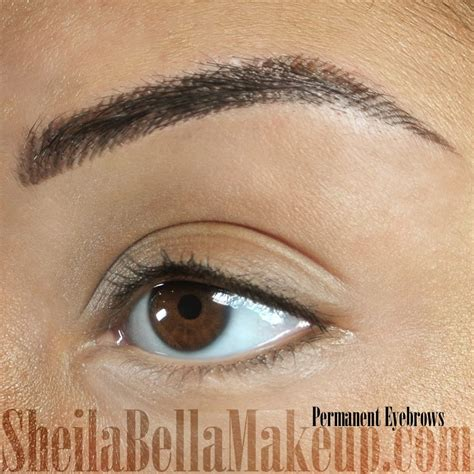 permanent eyebrow tattoo tattoo collections