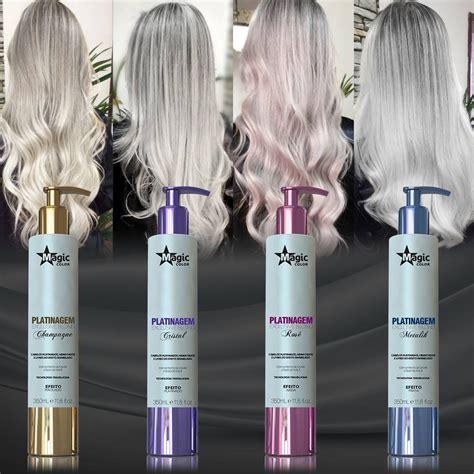 magic color platinagem magic color exclusive blond cristal 150ml