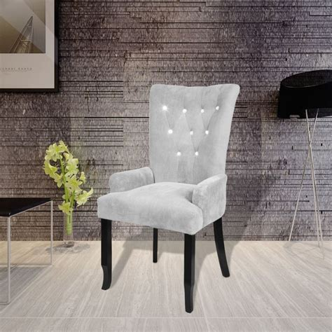 luxury armchair luxury armchair velvet coated silver vidaxl com