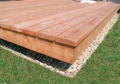 terrassenboden ideen terrassendielen perfekte l 228 rchenholz terrassendielen