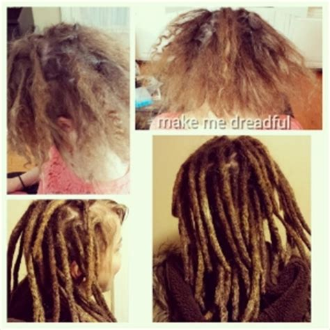 dread extensions short hair before after services make me dreadful