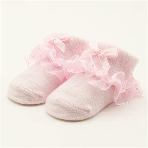 socks for babies kid baby ruffled ankle socks cotton infants non slip dot